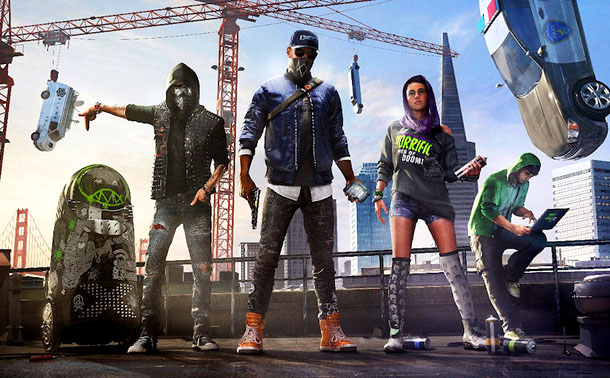 Watch Dogs 2 2017